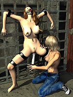 3D Bitch gets a lesson and craves 3D master