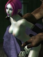 3D Peasant girl gets her hole rubbed and gets fucked by dick
