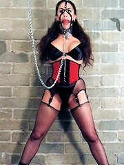 Schoolgirl in BDSM