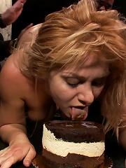 Flexible Blonde gets Bound...