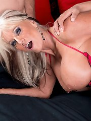 Sally DAngelo - Cumming-on Party For A Mature Bra-Buster