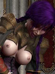 Cock craving Toon Girlie after school