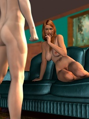 Cute 3D Doxy gets filled by throbing cock