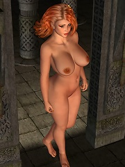 Toon Honey pleasures cock and comes