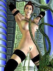 Nasty 3D BDSM Comix