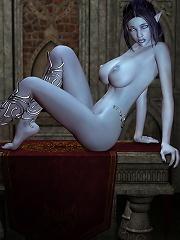 Toon Mom getting her nipples slammed by Lord
