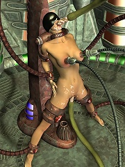 Virgin 3D Porncraft Girl with hot asshole