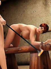 Angry Baby poses and screwed by cock outdoors