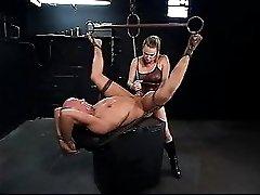 Male slave satisfies his Mistress