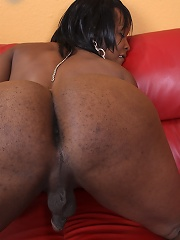 Krystal is a beautiful tranny with tons of sexual energy. She practically oozes it from every part of her body, right down to that luscious cock of he