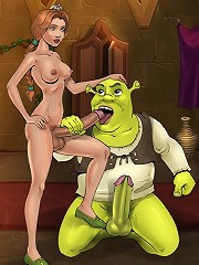 Shreks shemale girlfriends giving him a hard time