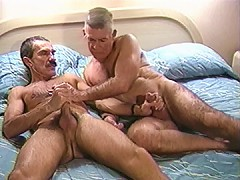 Old dick packs that asshole tight