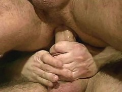 Gay bears purely gifted with monster cocks anal fucking lustfully.