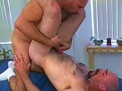Bald bears get hardcore in bed