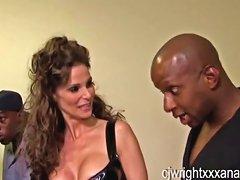 Syren Demer Interracial Anal Gangbang Porn Videos