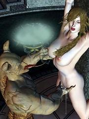 Erotic BDSM 3D Comix