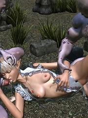 Amazon heard dick between her boobs