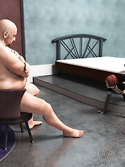 3D Whore dominates and comes