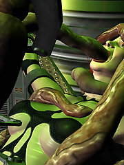 3D miss gets pleasure and...