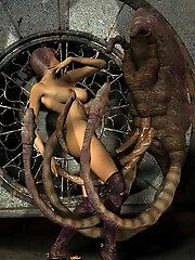 Erotic 3D BDSM Comics