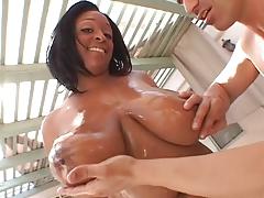 Carmen Hayes - Busty Black Babe