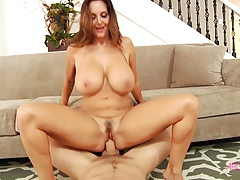 Ava Addams gets her asshole reamed hard and cummed on