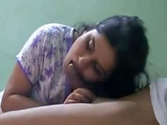 Cute Bhabhi Sucking Lover Cock