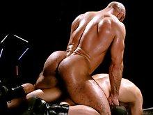 Muscle bears Shane Alexander & Xerxes