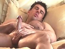 Hairy and big gay muscle model on videos