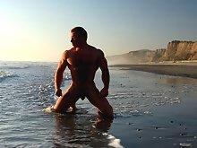 Ben Kieren Bodybuilder Sunset