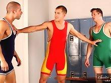 Parker London, Brandon Lewis and Rod Daily Hot Jocks Nice Cocks