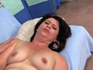 Small Tits Older Slut Jenna Jingles Bounces On A Long Cock