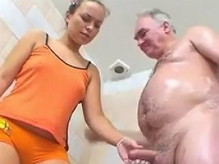 Teen Shower With Daddy 1 4 Grab His Cock Porn 8e Xhamster