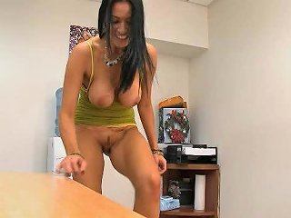 Stunning Brunette Milf Shows Her Tits And Sucks Cock In Pov Vid