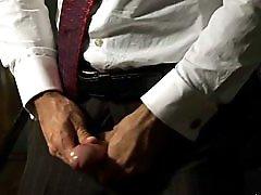 Hairy gay man Wilfried Knight solo masturbation videos