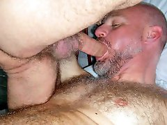 Mature gays fucking each others assholes into ultimate frenzy