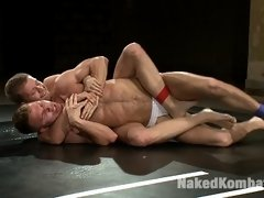 Zach Alexander and Micah Andrews fight for real and fuck all over the mat.