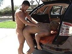 Cute gay men have a fun outdoors. Free gay cock cum shots videos and pics