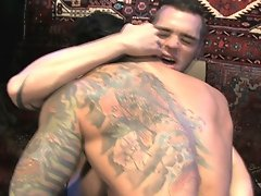 Confident muscle boy Alexsander Frietas is worshiped by his young stable boy, Andre Barclay, in this hot encounter. As Alex flexes his abs, Andre come