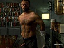 Hairy muscle bear Wilfried Knight