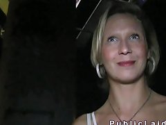 Blonde Woman Fucked Next To The Road Porn Videos amateur sex