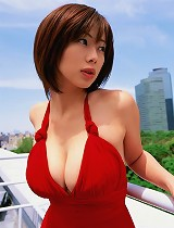 free asian gallery Short haired gravure babe...