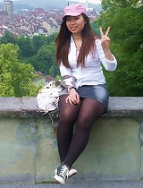 free asian gallery real teen takes her own...