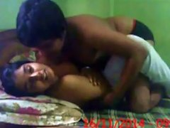 Lovely Missionary Style Teen Sex Of An Indian College Couple