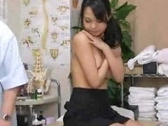 Massage Turns To Sex For Cute Girl