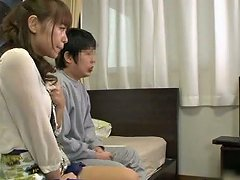 Japanese Skank Plays With A Cock And Gets Fucked In All Known Positions