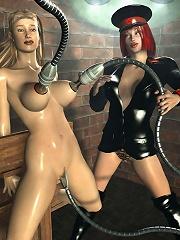 XXX 3D BDSM Comics