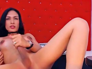 Exotic Amateur Shemale Record With Fetish Cumshot Scenes