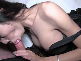 Oiled Shelady Butt Swallows Dick