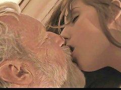 Bearded Grandpa Fucks Cutie Young Girl